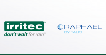 Irritec Group e Raphael By Talis: una partnership strategica per l'irrigazione sostenibile